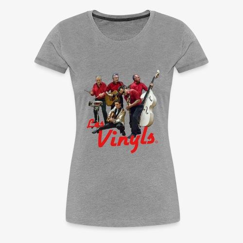 Les Vinyls - Photo Couleur - T-shirt Premium Femme