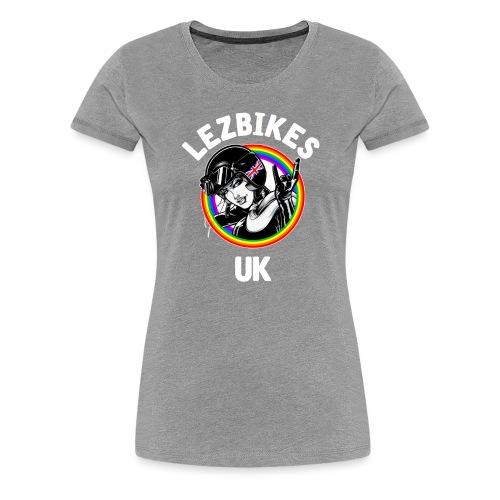 Lezbikes Logo - Women's Premium T-Shirt
