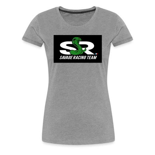 Original Green Black Logo - Women's Premium T-Shirt
