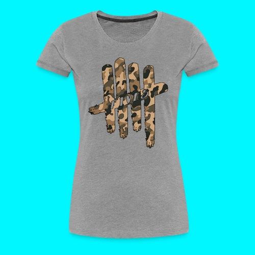 FIVES camo - T-shirt Premium Femme