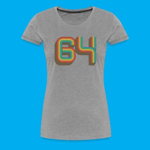 64 - Women's Premium T-Shirt