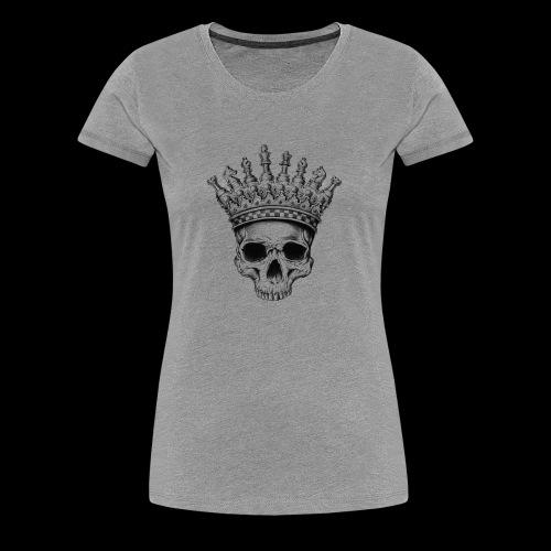 Heavy lies the Crown - Frauen Premium T-Shirt