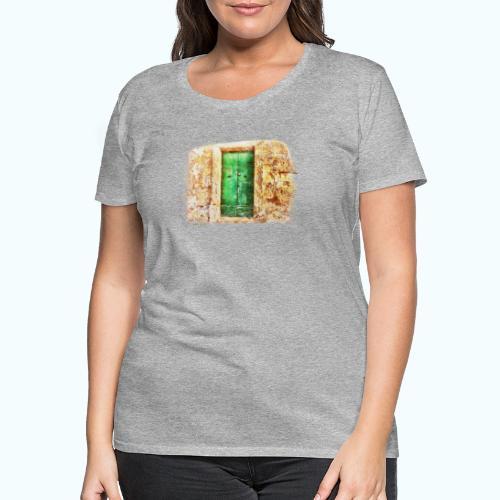 Vintage door - Women's Premium T-Shirt