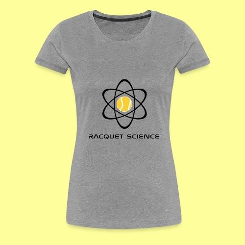 RACQUET SCIENCE - Koszulka damska Premium