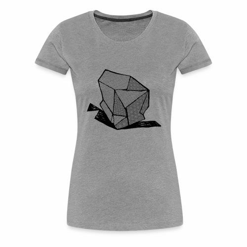ROCK No 1 b w - Vrouwen Premium T-shirt
