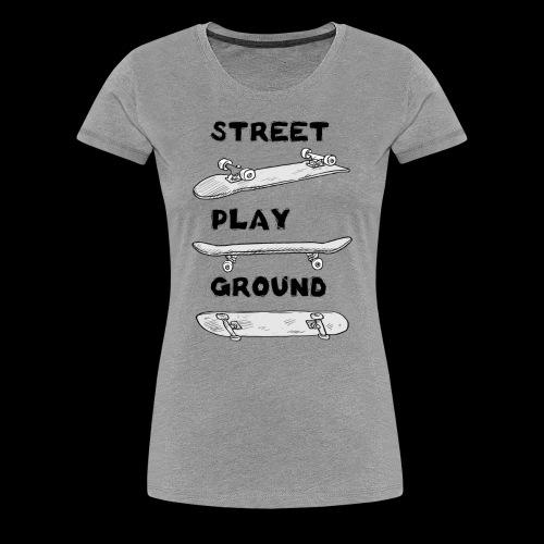 Streetplayground Boards - Frauen Premium T-Shirt