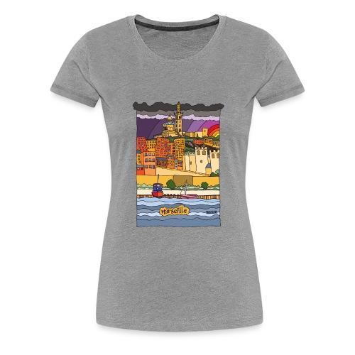 Marseille mon amour - T-shirt Premium Femme