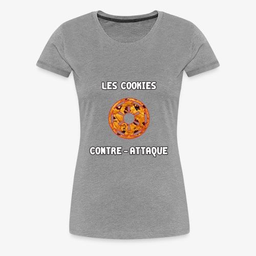 Les Cookies Contre Attaque - T-shirt Premium Femme