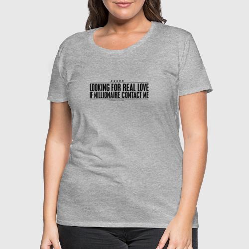 REALLOVE - Dame premium T-shirt