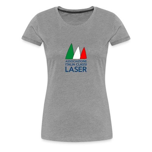 Logo per sfondo bianco - Maglietta Premium da donna