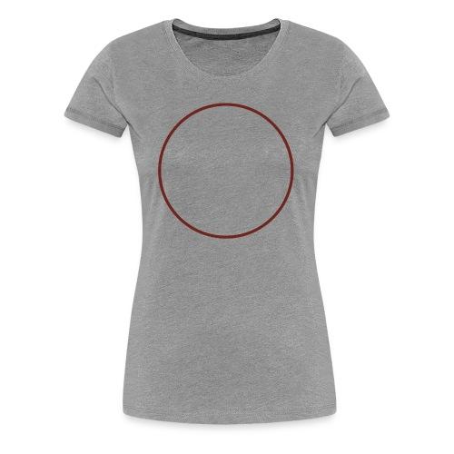 Cerchio_rame - Maglietta Premium da donna
