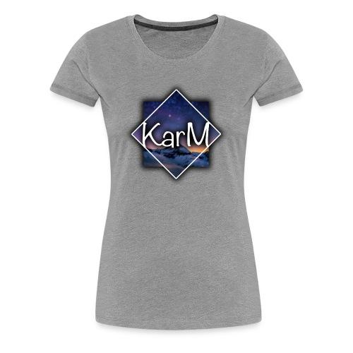 KarM Logo - Premium T-skjorte for kvinner