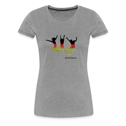 WW 3 Mensche - Frauen Premium T-Shirt
