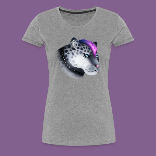 nieve guepardo del punk - Camiseta premium mujer