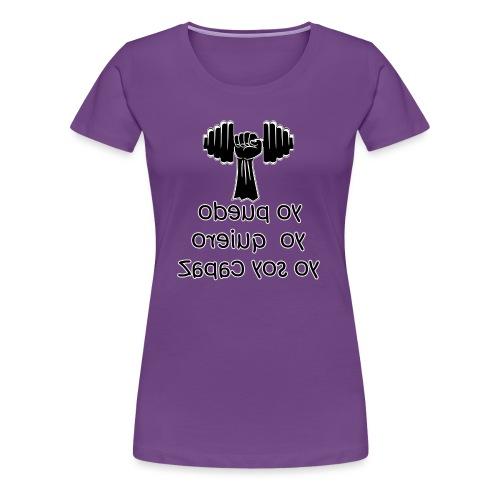 Para el Espejo: GYM - YO PUEDO - Camiseta premium mujer