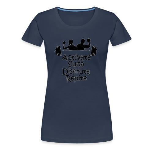GYM - ACTÍVATE - Camiseta premium mujer