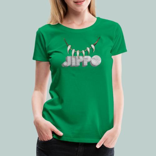 jippo_retro_torahampaat - Naisten premium t-paita