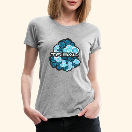 TRIBAL BLUE - Frauen Premium T-Shirt