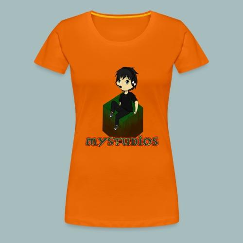 Mystudios Stylo - Frauen Premium T-Shirt