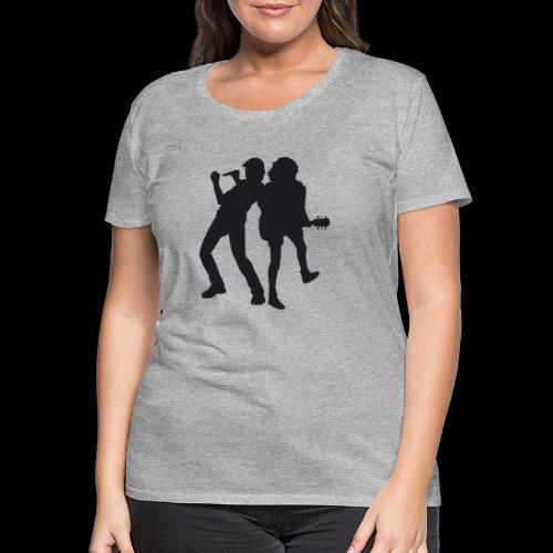 Johnson_Young - Frauen Premium T-Shirt