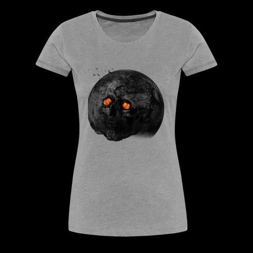 Tête de la terre brûlée - T-shirt Premium Femme