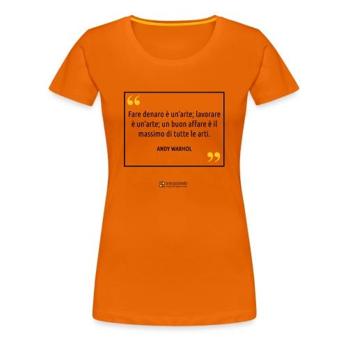 Citazione Pop Art - Maglietta Premium da donna