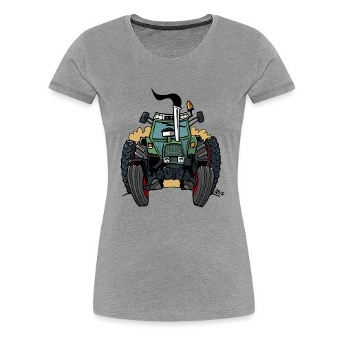 0163 F - Vrouwen Premium T-shirt