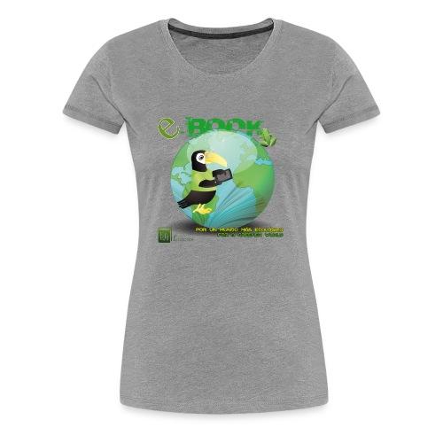 Colección E-Book - Camiseta premium mujer