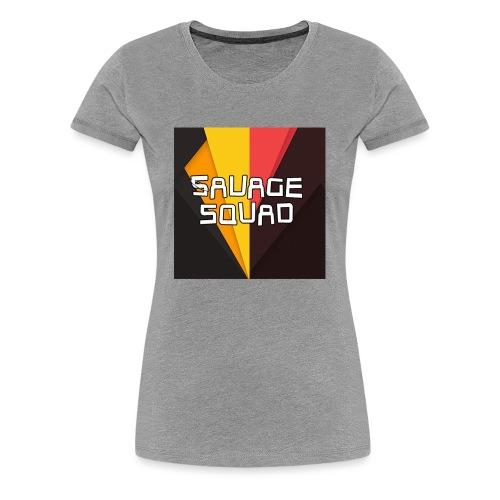 SavageSquad Gear - Women's Premium T-Shirt