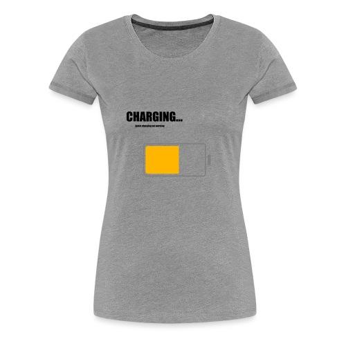 Charging - Frauen Premium T-Shirt