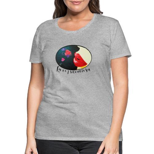La Voz Silenciosa - Besos - Camiseta premium mujer