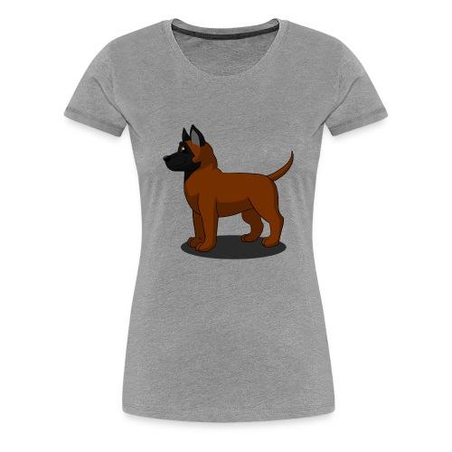 bébé malinois - T-shirt Premium Femme