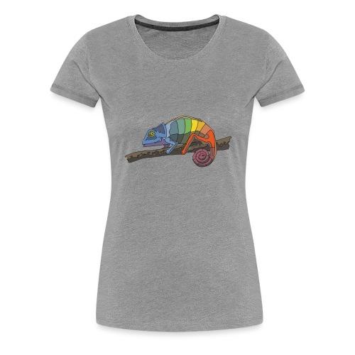 Chameleon T-Shirt - Frauen Premium T-Shirt