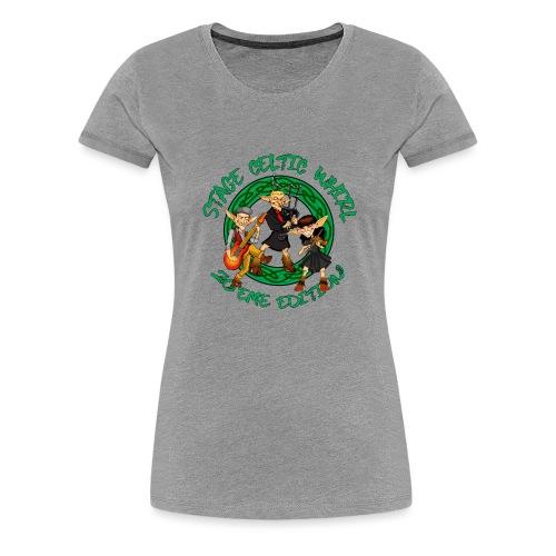 Celtic Whirl Stage - T-shirt Premium Femme