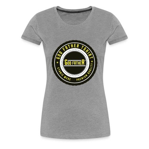 GOD FATHER LOGO 1 - Women's Premium T-Shirt
