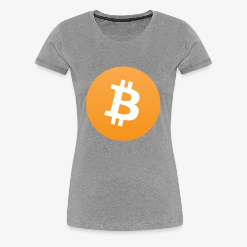 Original bitcoin symbol - Women's Premium T-Shirt
