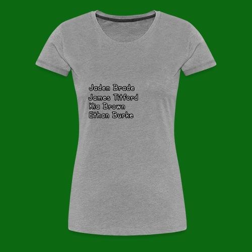Glog names - Women's Premium T-Shirt