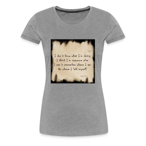 Alcohol poster - Women's Premium T-Shirt