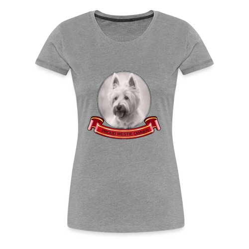 Proud dog owner - Women's Premium T-Shirt