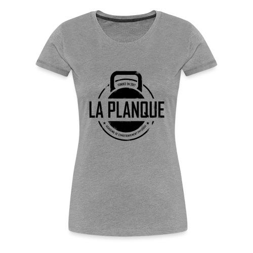 la_planque noir - T-shirt Premium Femme