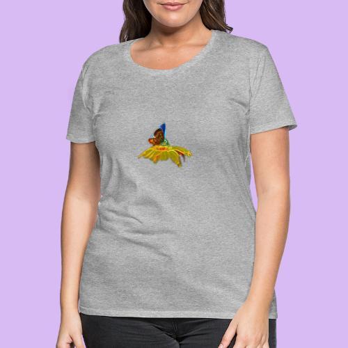 Farfalla su corolla - Maglietta Premium da donna