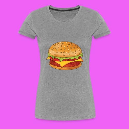 hamburguesa - Camiseta premium mujer