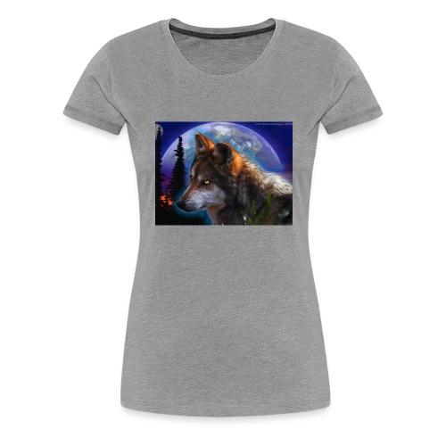 magnifique loup - T-shirt Premium Femme