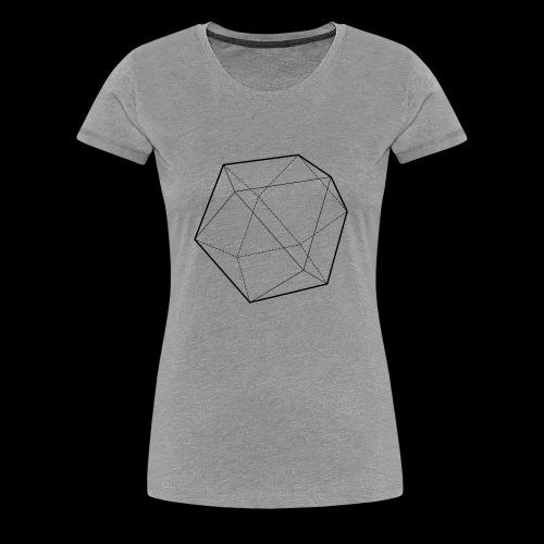 Minimal desing Geometrical Figures - Camiseta premium mujer
