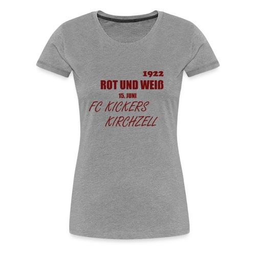rw png - Frauen Premium T-Shirt