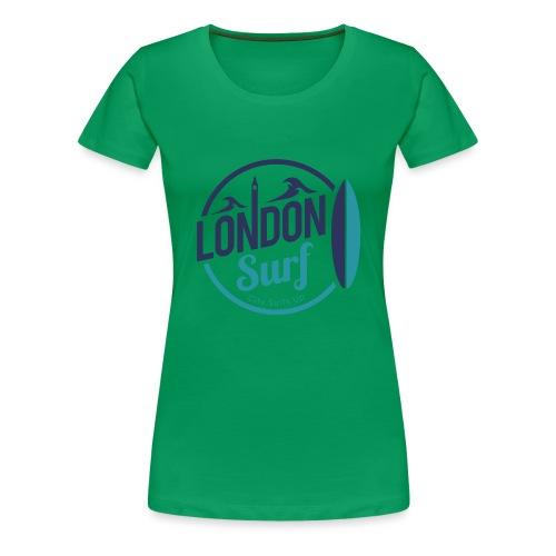 London Surf Classic Logo - Women's Premium T-Shirt