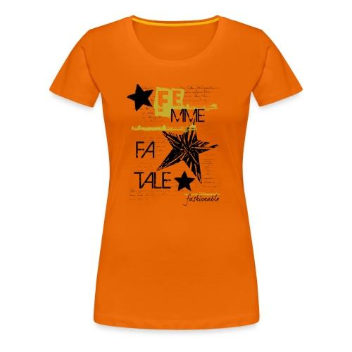 fatale - Maglietta Premium da donna