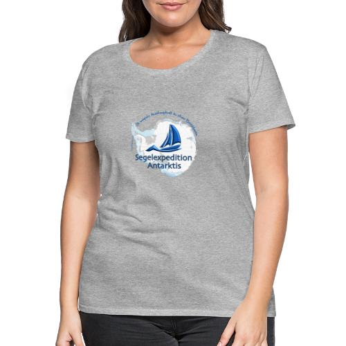 segelexpedition antarktis3 - Frauen Premium T-Shirt