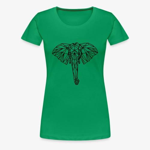 elephant - Maglietta Premium da donna