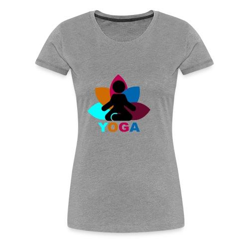 yoga - Women's Premium T-Shirt
